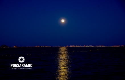 A Moonlit La Manga (Watermarked)