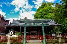 Ancient Temple Miyajima (Watermarked)