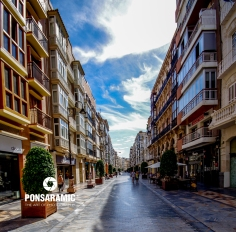 Cartagena Main Street (Watermarked)