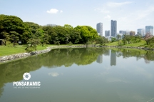 Japan - Lake Reflection 1 (Watermarked)