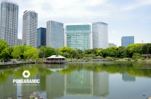 Japan - Lake Reflection 2 (Watermarked)