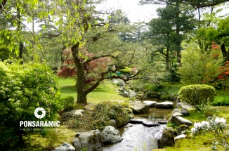 Japan - Park and River 2 (Watermarked)