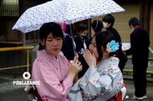 Japan - Women Whispering (Watermarked)